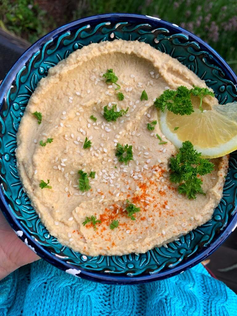 hummus di ceci ricetta semplice