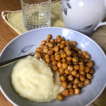 ricetta vegana ceci speziati croccanti