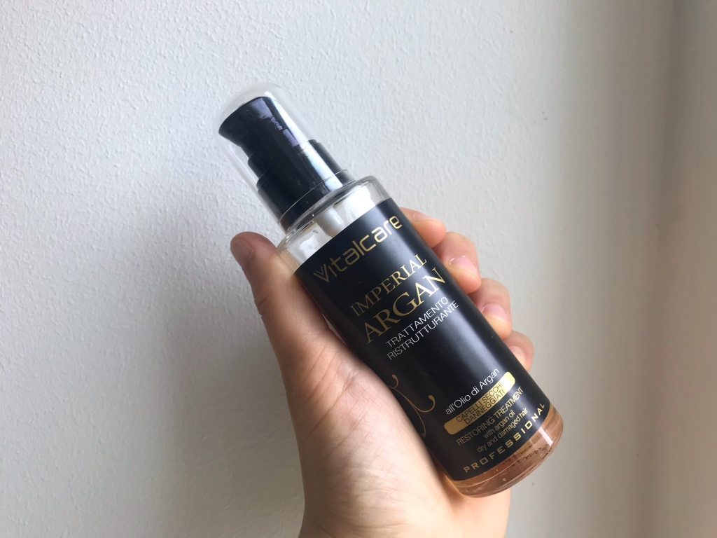olio di argan shower routine capelli
