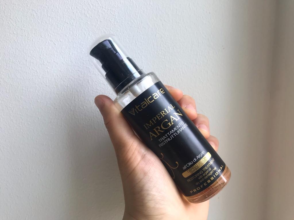 olio di argan shower routine capelli