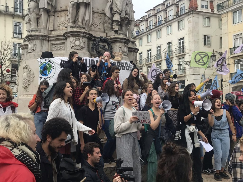 extinction rebellion lisbon